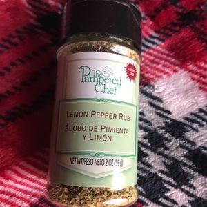 New! Pampered Chef Lemon Pepper Rub